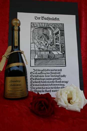 Vinmet Manufaktur Gutenbergs Geheimnis