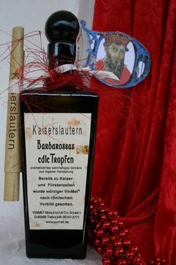Vinmet Manufaktur Barbarossas edle Tropfen