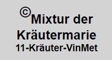 Vinmet Manufaktur Kräutermarie