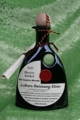 Vinmet Manufaktur Luthers Reiseweg Elixier